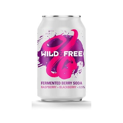 Wild Beer Co Wild & Free Berry Soda