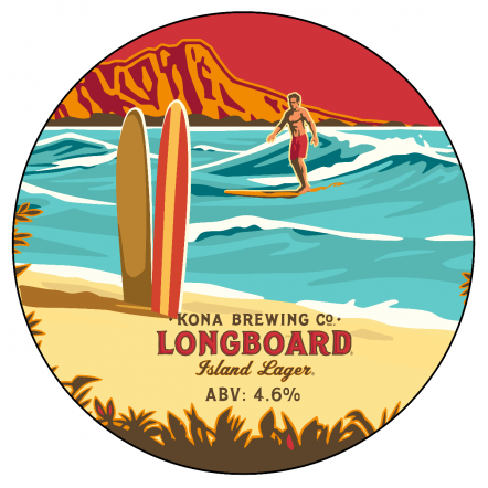 Kona Brewing Co Longboard Lager (BBE 19.5.20)