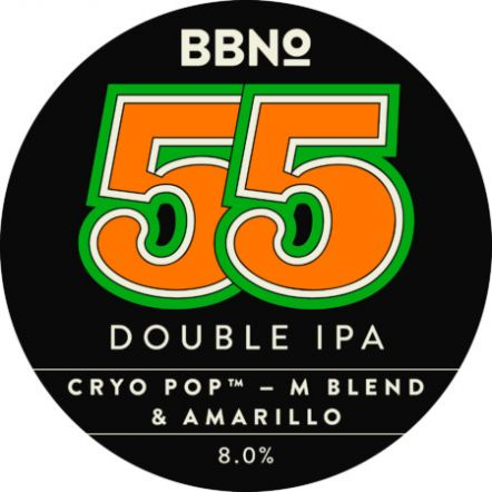 Brew By Numbers 55 Double IPA Cryo Pop
