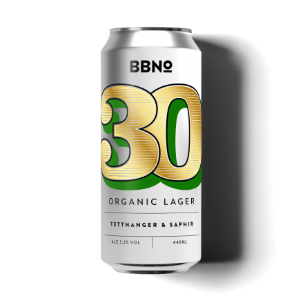 Brew By Numbers 30 Tettnanger & Saphir Lager