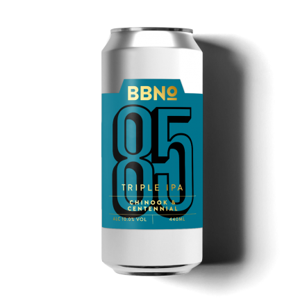 Brew By Numbers 85 Triple IPA Chinook & Centennial