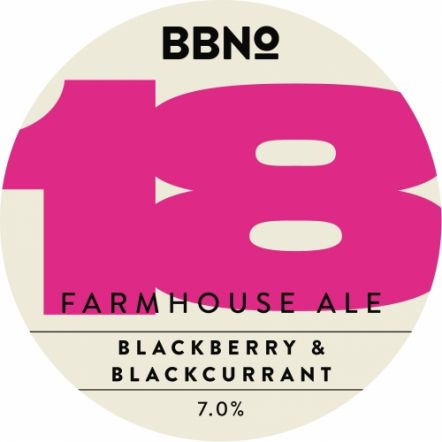 Brew By Numbers Farmhouse Blackcurrant & Blackberry