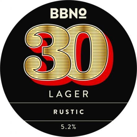 Brew By Numbers 30 Lager Spalter & Saphir