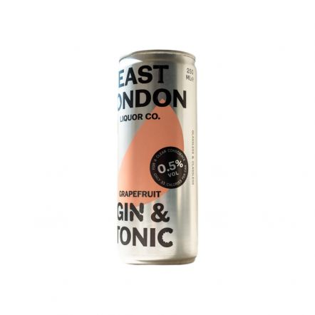 East London Liquor Company OOD Gin & Tonic (Low ABV) (BBE 30.7.21)