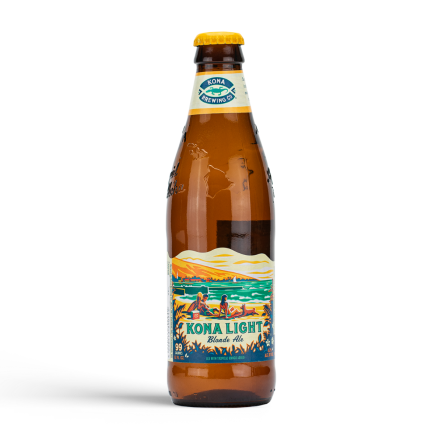 Kona Brewing Co Light Blond ale