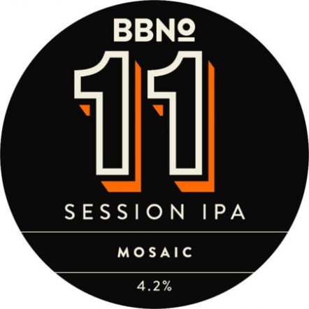 Brew By Numbers 11 Mosaic IPA