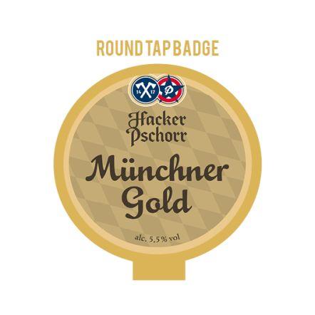 Hacker-Pschorr Munich Gold Tap Badge
