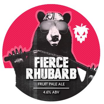 Fierce Rhubarb Fruit Pale Ale