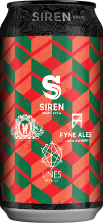 Siren One in, All In (X White Hag, Fyne ale & Lines)
