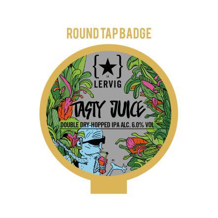Lervig Tasty Juice Tap Badge