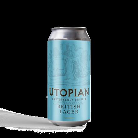 Utopian British Lager