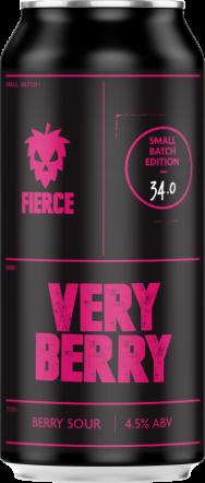 Fierce Very Berry Fruity Sour Ale