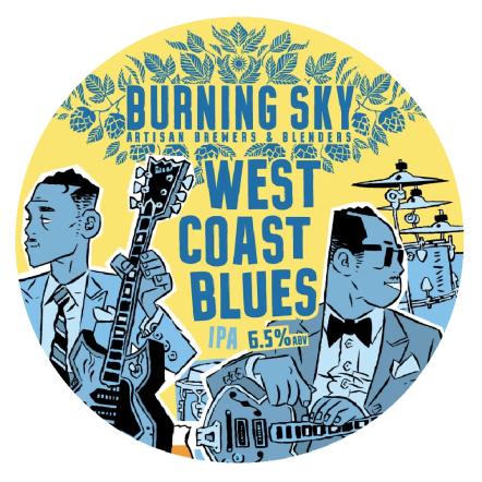 Burning Sky West Coast Blues